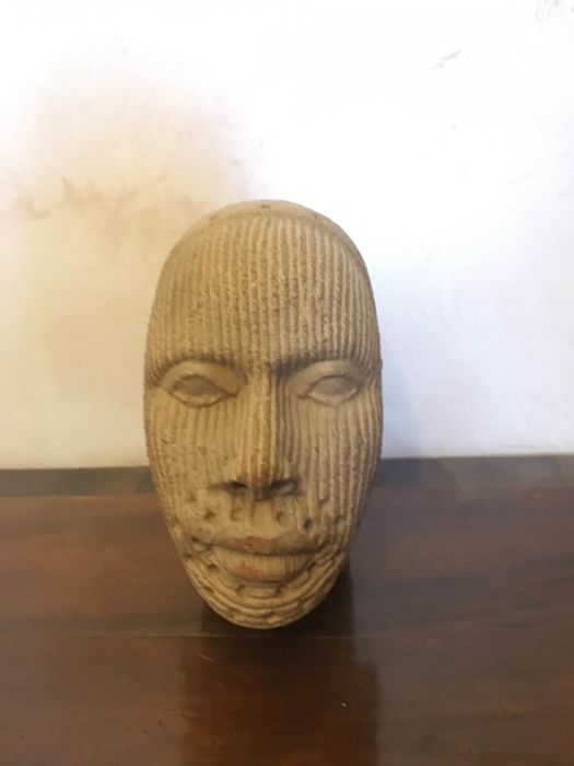 Ife culture terracotta head