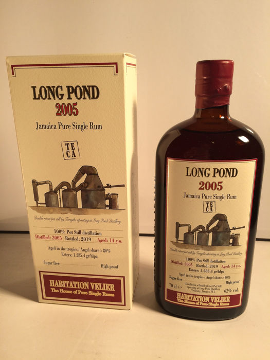 Long Pond 2005 14 years old Habitation Velier - TECA Pure Single Rum - 70cl