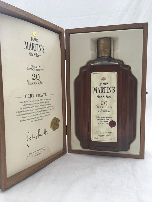 James Martin's 20 years old Fine & Rare - 0.7 Litres