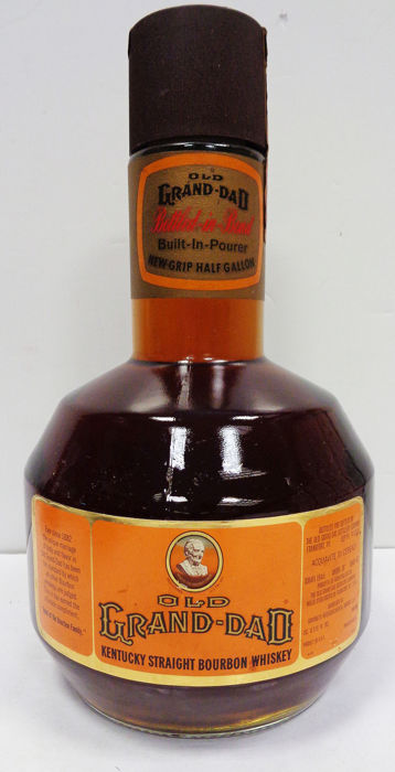 Old Grand Dad Bottled in Bond - Half Gallon - b. 1970s - 194cl