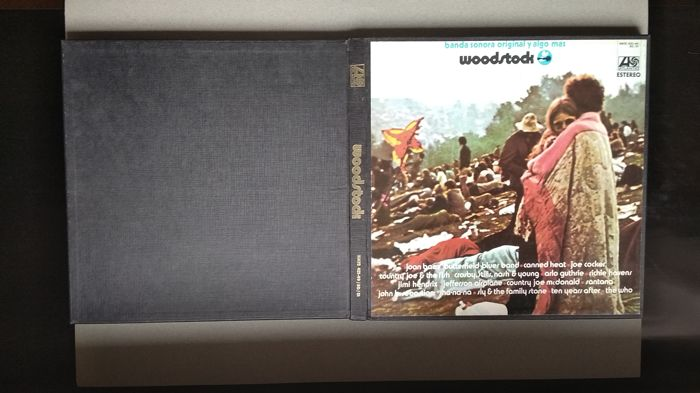 Various Artists/Bands in 1960's - Woodstock - Music From The Original Soundtrack And More - Album 3xLP (triplo), Cofanetto LP - 1970
