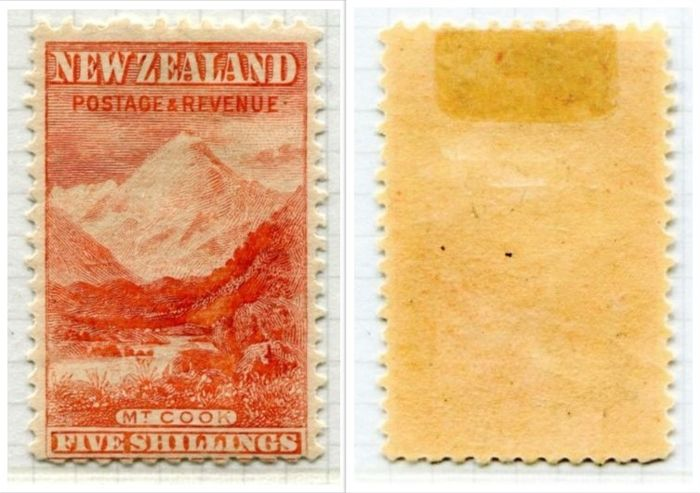 Nueva Zelanda 1898/2003 - Mountains and mountain Landscapes - Collection of 142 stamps + 13 minisheets/booklets