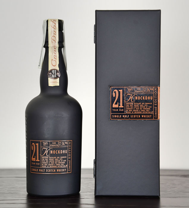 Knockdhu 21 years old - 0.7 Litres