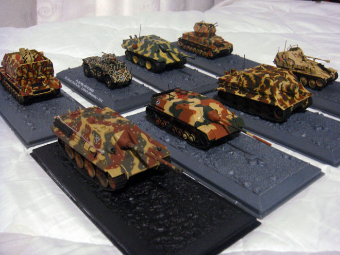 Altaya - W W 2 Panzers and Military vehicles - Tank - 1940-1949