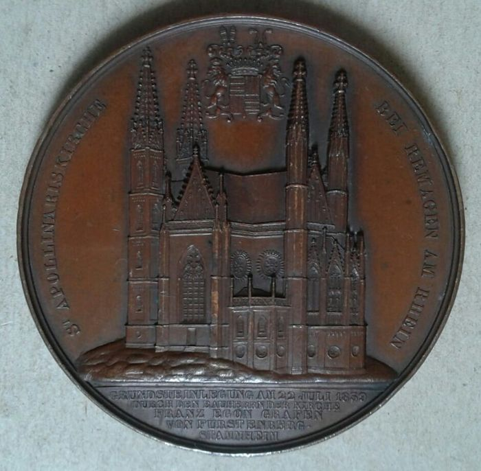Germany - Medal S. Apollinaire Church - Bronze