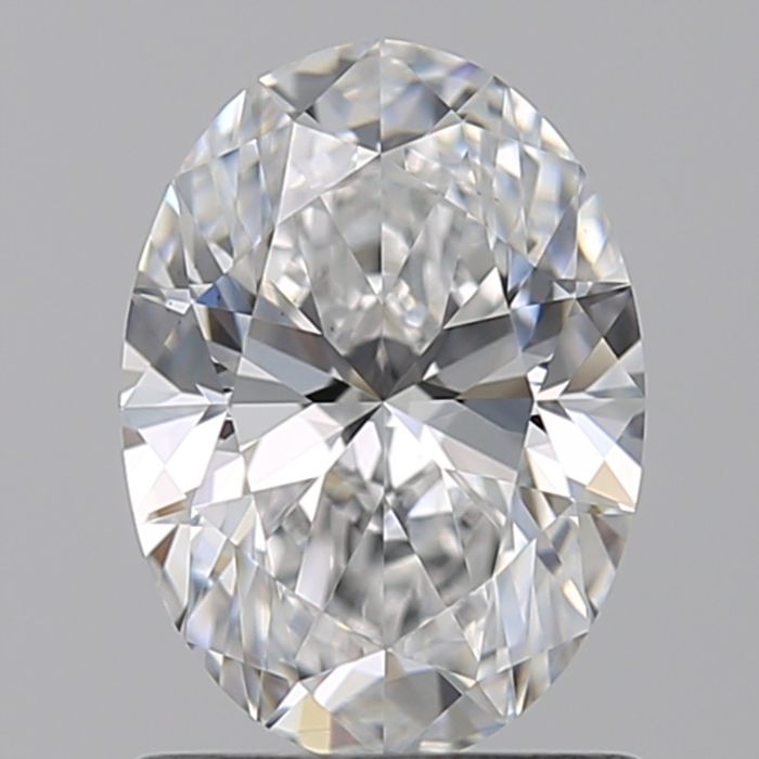 1 pcs Diamond - 0.40 ct - Ovális - G - VS2