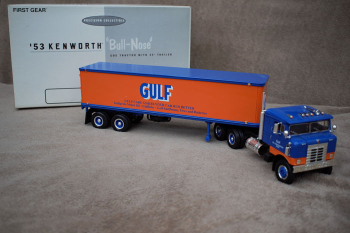 "First Gear - 1:34 - Kenworth ""BULL-NOSE 1953"