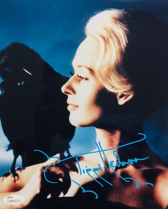 Tippi Hedren - Authentic Signed Poster ( 20 x 25 cm ) - with Certificate Of Authenticity JSA