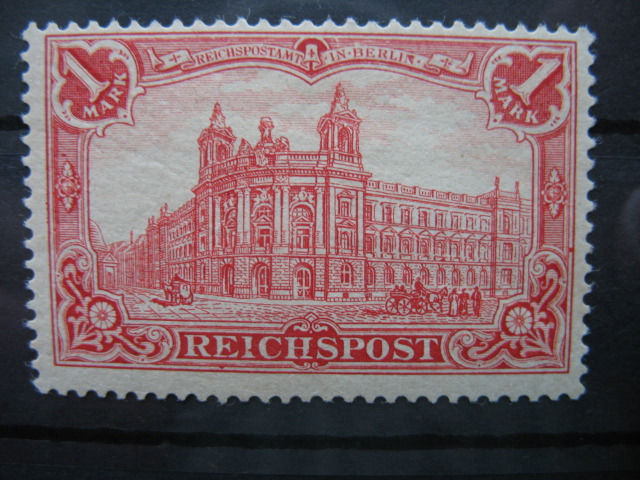 "Duitse Rijk 1900 - 1 mark ""Germania"" - Reichspost"
