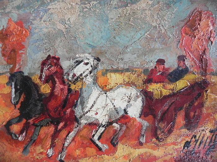 Henry Maurice d'Anty - Horses
