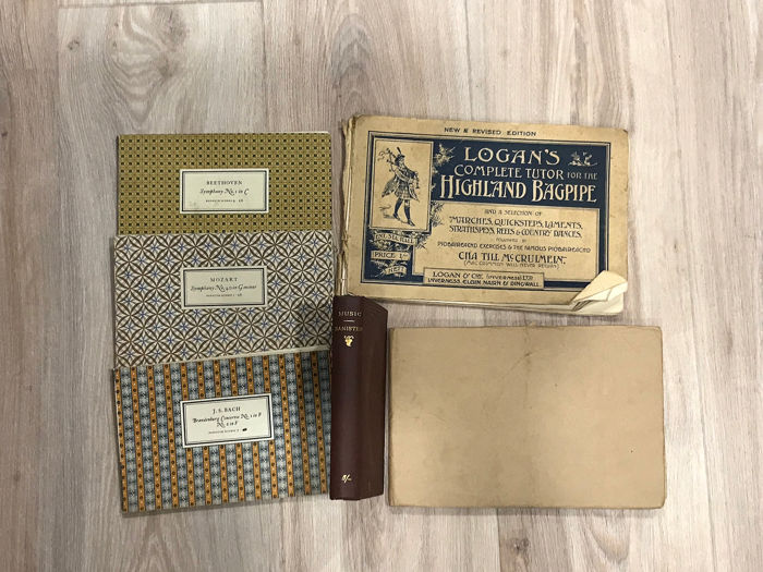 Various - Lot of 6 Music books - 1885/1950
