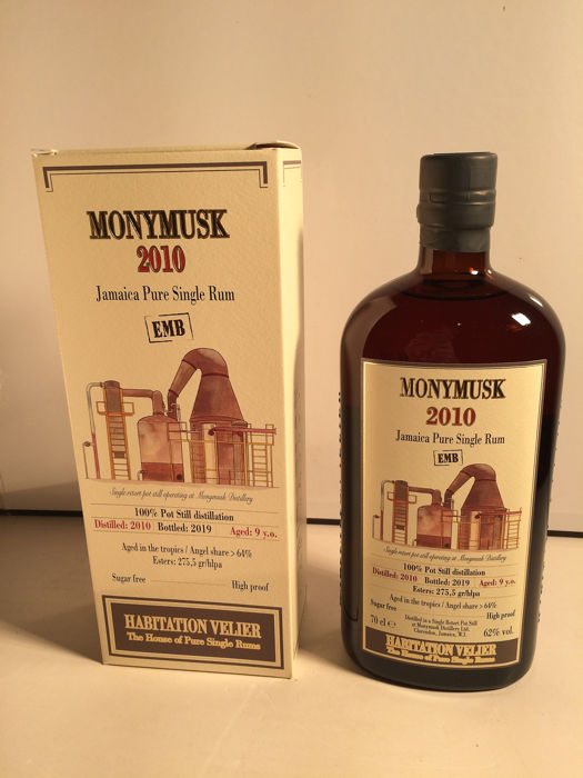 Monymusk 2010 9 years old Habitation Velier - EMB - 70cl
