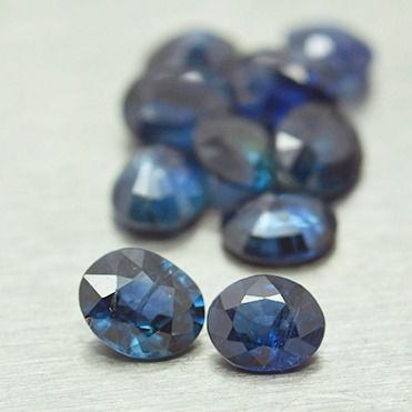 10 pcs  Zafiro - 3.15 ct