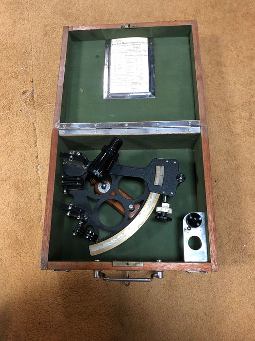 Micrometer sextant, N.V. Observator Rotterdam - Brass, Steel - mid 20th century