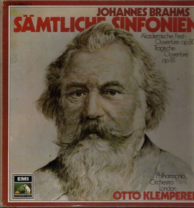 Lot of 5 Box sets (17 LP's) Brahms, Haydn,, Schumann /  Klemperer, Vaughan, Sawallish, Marriner - LP's - 1960/1980