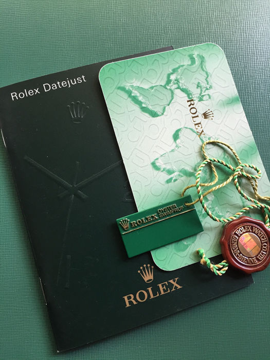 Rolex - COMPLETE SET FOR ROLEX DATEJUST - Unisex - 2000-2010