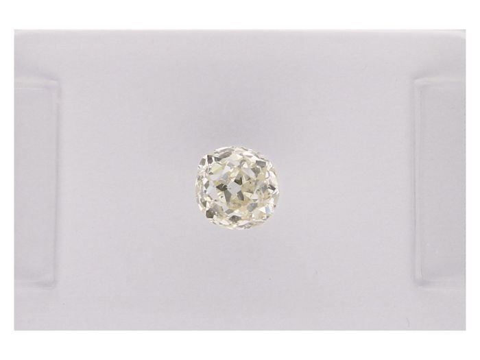 1 pcs Diamante - 0.34 ct - Viejo corte Europeo - J - SI2