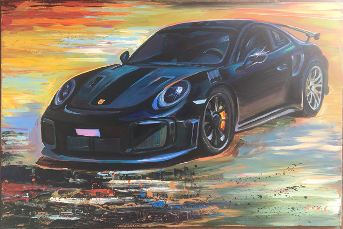 Pintura original - Porsche - Alex L. - Dream Porsche - 2019-2019
