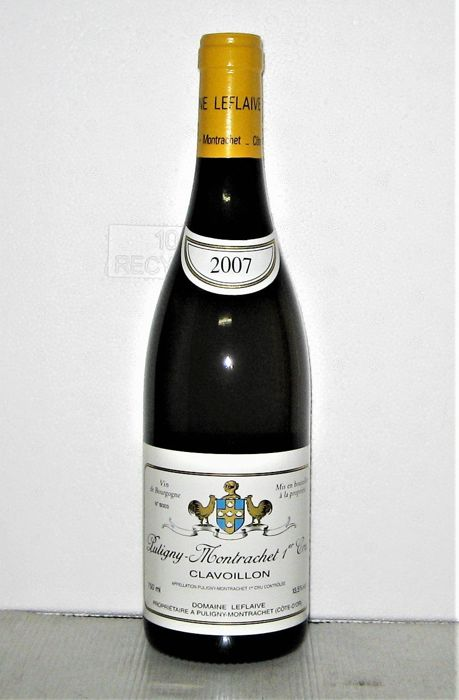 2007 Puligny-Montrachet 1° Cru Clavoillon - Domaine Leflaive - Bourgogne - 1 Normalflasche (0,75 Liter)