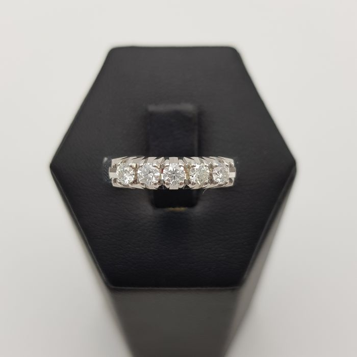 Witgoud - Ring - 0.40 ct Diamant