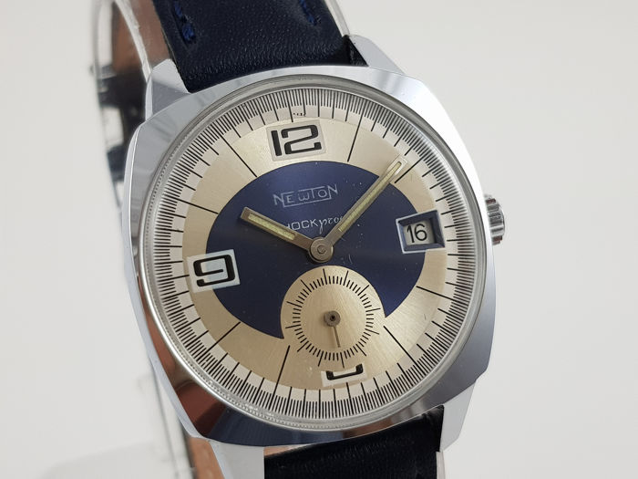 Newton - Shock Proof Vintage M.Winding  - Hombre - 1960-1969