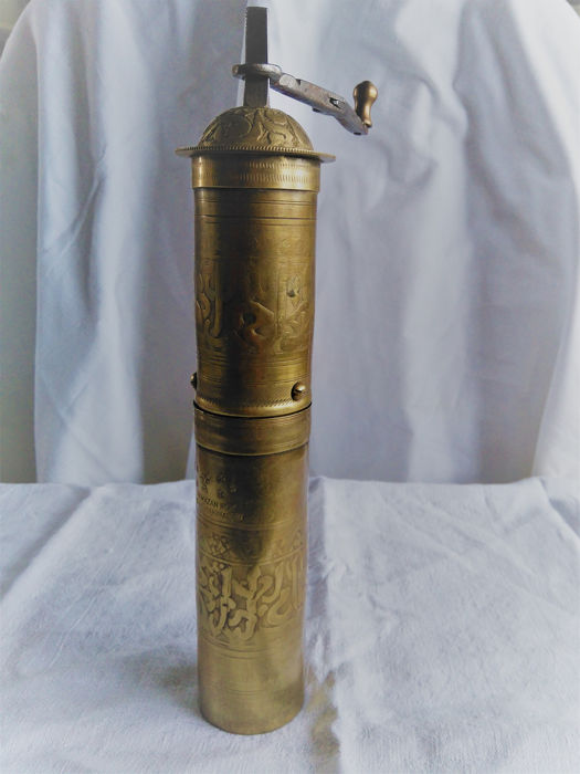 Ottoman pepper or coffee grinder (1) - Copper