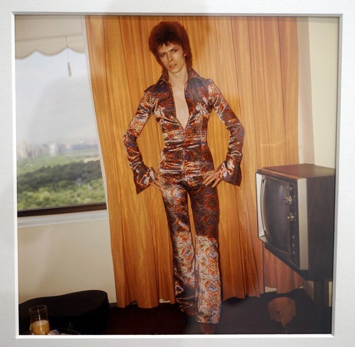 Gloria Stavers (1926-1983) - David Bowie, 1972