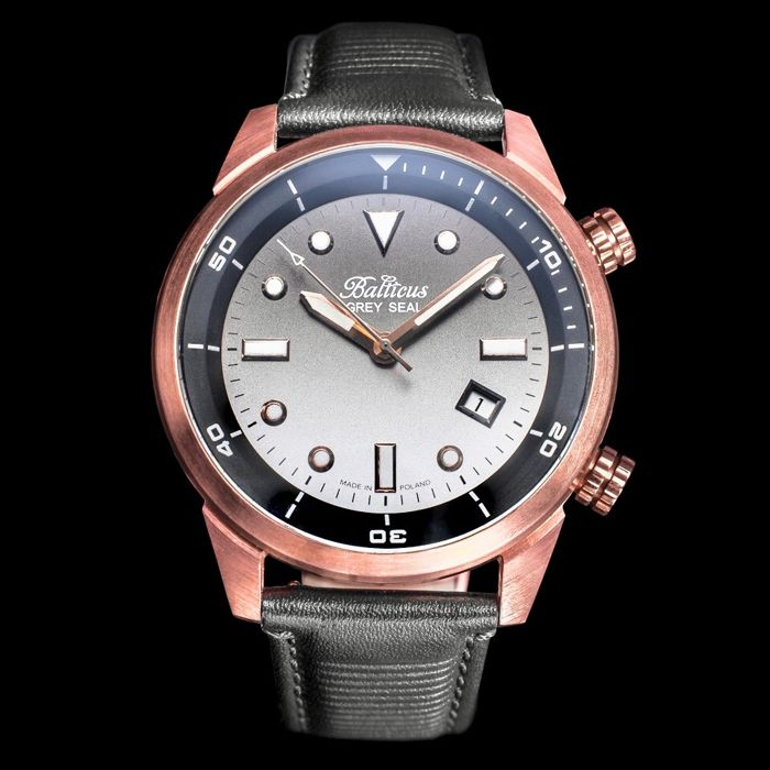 Balticus - Automatic Bronze Grey Seal with Date Limited Edition of 100 pieces - Men - 2011-present