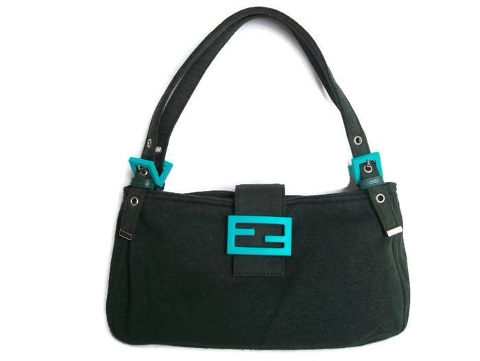 "Fendi ""Groene Limited Edition!"" Handtas/Shouldersbag *"