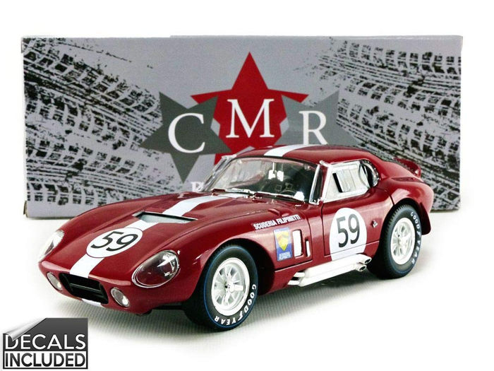 CMR Classic Model Replicars - 1:18 - Shelby Cobra Daytona Coupe #59 24h Le Mans 1965