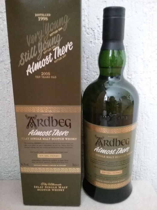 Ardbeg 1998 Almost There - b. 2007 - 70 cl