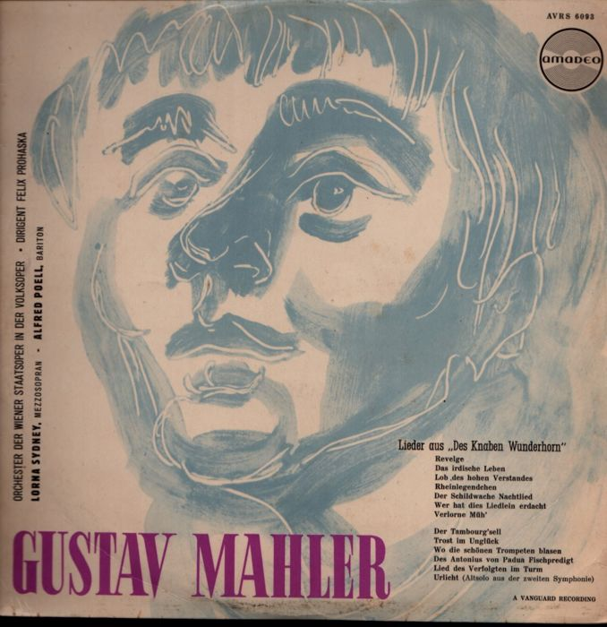 Lot of 12 albums (17 LPs): MAHLER- Giulini, Levine, Ormandy - Multiple artists - Multiple titles - LP's - 1960/1980