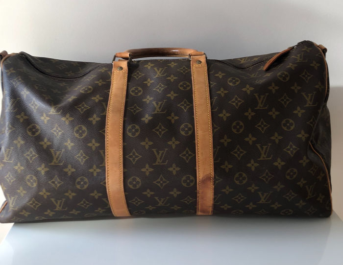 2e63e5ddd1 Louis Vuitton - Keepall 55 Borsa da viaggio - Catawiki