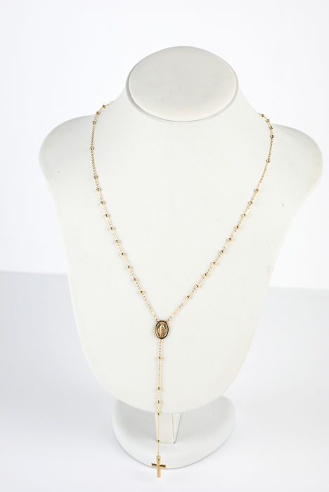 UNOAERRE - 18 kt. Yellow gold - Necklace, Rosary