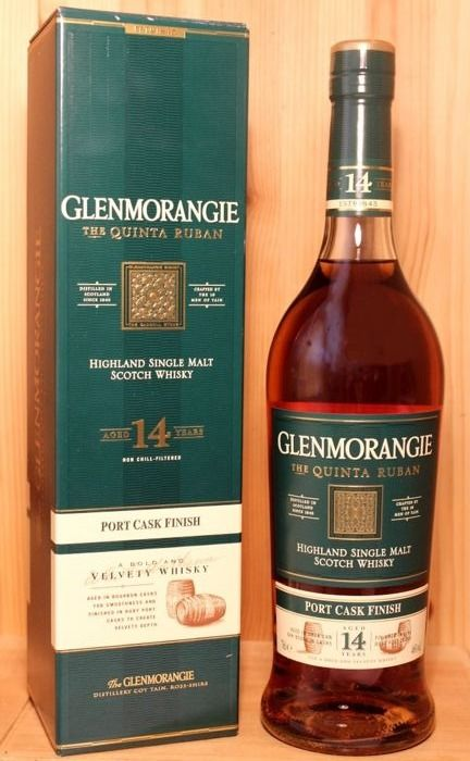 Glenmorangie 14 years old the Quinta Ruban - (new edition) - 70cl