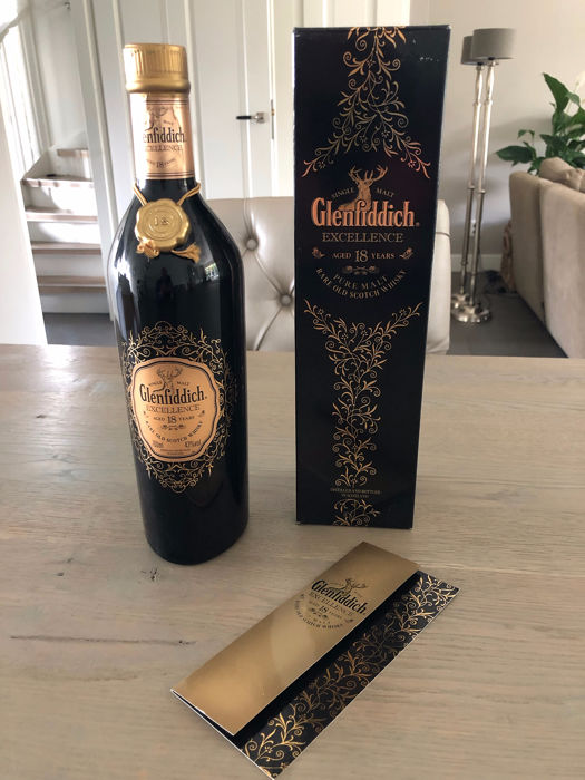 Glenfiddich 18 years old Excellence - Official bottling - 700ml