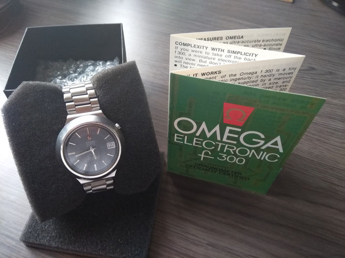 "Omega - Seamaster ""the Cone"" - 198.012 - Men - 1970-1979"