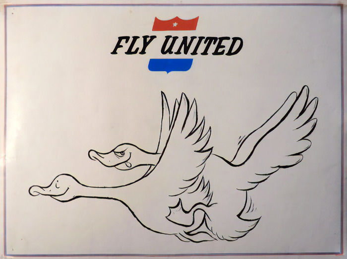 Anonymous - Fly United - 1967