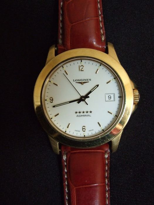 Longines - ADMIRAL 5 STELLE ORO  - L3.604.6.16.2 - Homme - 1990-1999