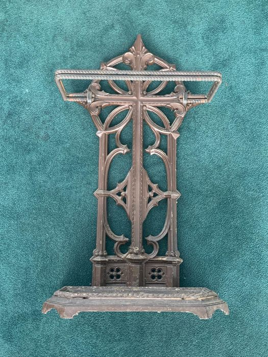 Umbrella stand (1) - Steel - Late 19th century