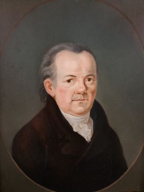 European School  - Minister Koebel Portrait