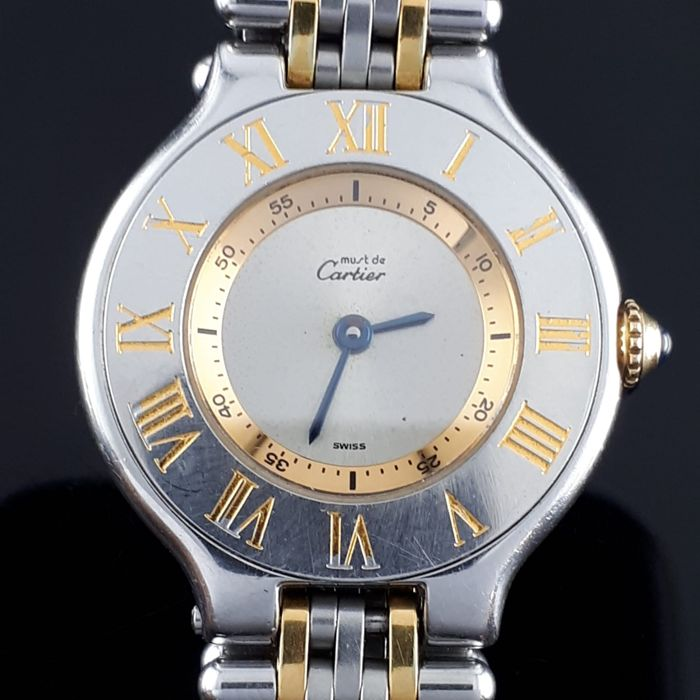 Cartier - must de Cartier 21 - 1340 - Dames - 1990-1999