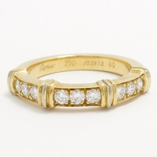 Cartier - 18 kt Gult guld - CONTESSA Band Ring - 0.27 ct Diamant