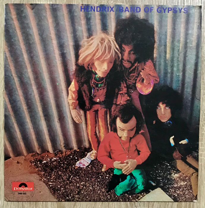 Jimi Hendrix' Band Of Gypsys - Band of Gypsys - LP Album - 1970/1970
