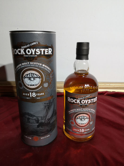Rock Oyster 18 years old blended malt - Douglas Laing - 0.7 Ltr