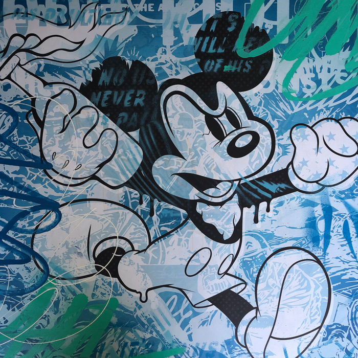 Dillon Boy - Mad Mouse / Mickey Mouse Molotov (Blue)