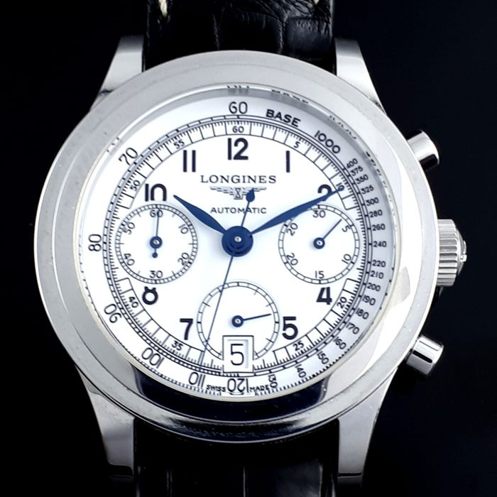 Longines - Heritage Automatic Chronograph - L2.768.4 - Hombre - 2011 - actualidad