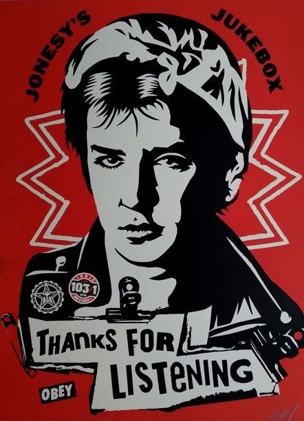 Shepard Fairey (OBEY) - Jonesy's Jukebox