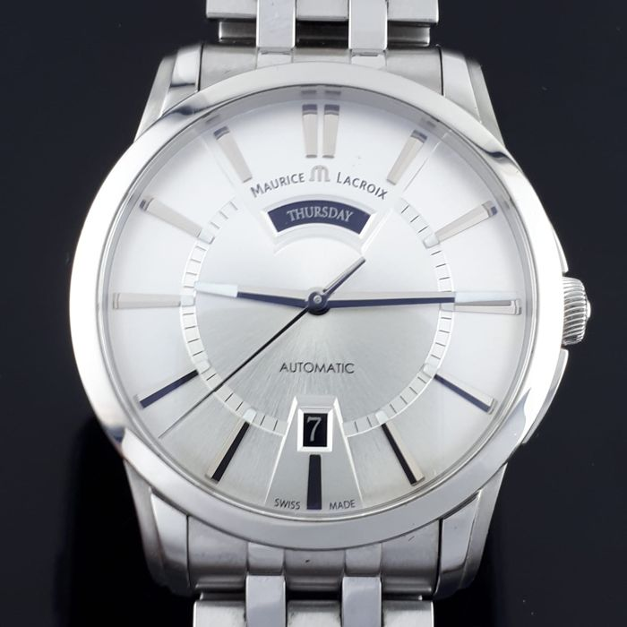 Maurice Lacroix - Pontos Automatic Day Date  - PT6158  - Heren - 2011-heden