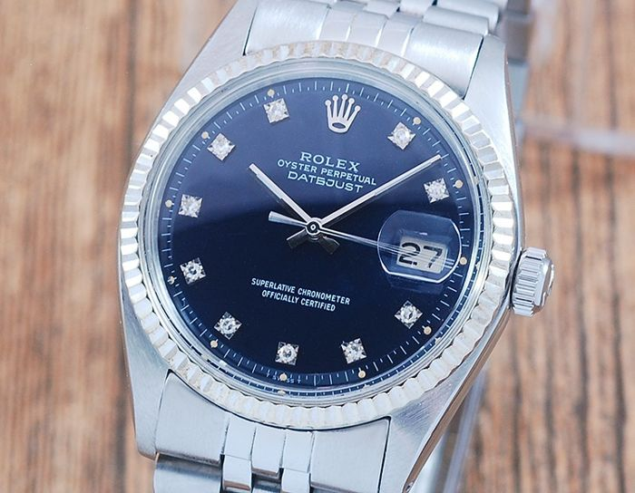 Rolex -  Oyster Perpetual DateJust  - 1601 - Hombre - 1970-1979